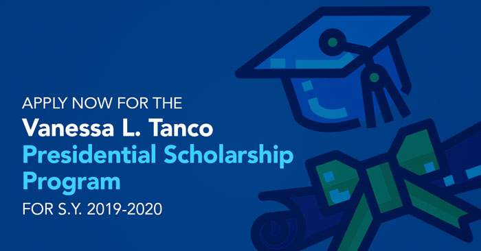Vanessa L. Tanco Presidential Scholarship Program (2018 Application Deadline)