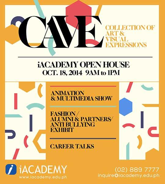 CAVE: iAcademy OPEN HOUSE