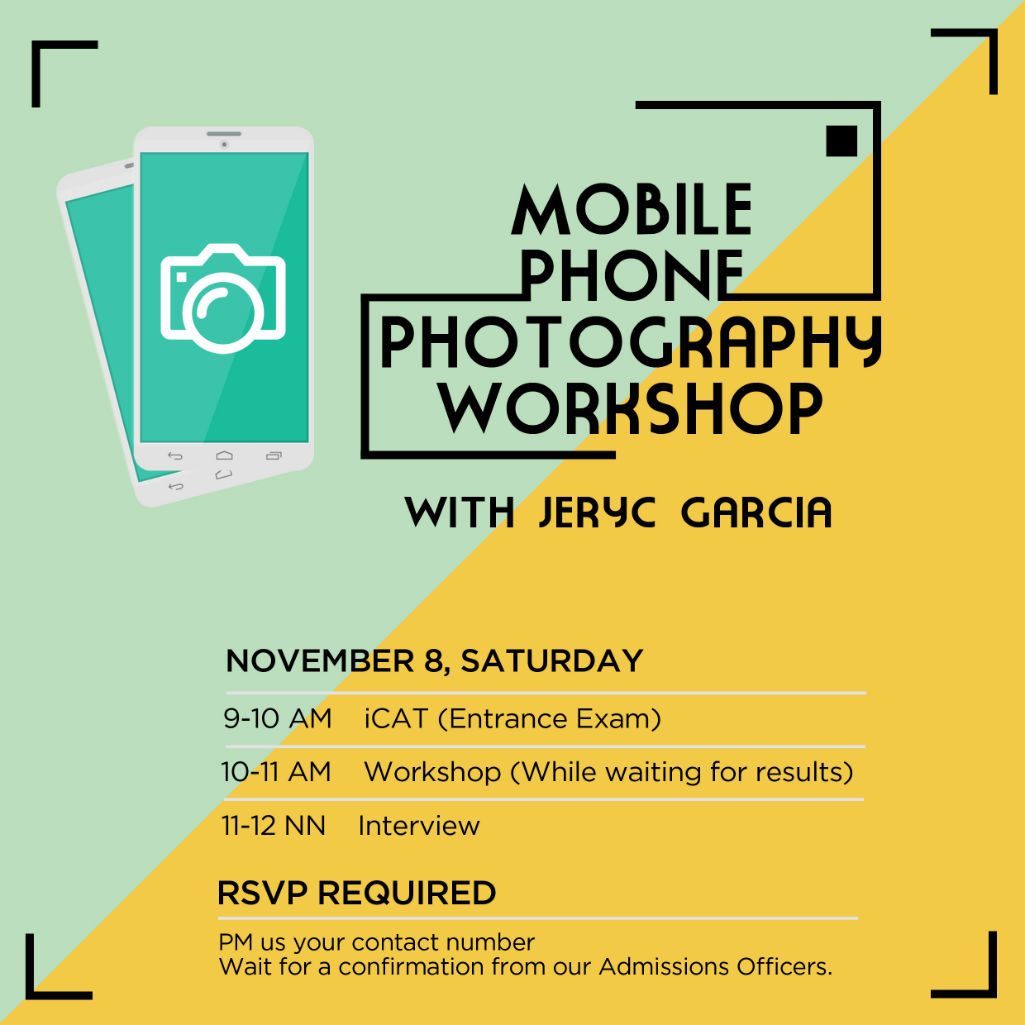 Mobile Phone Photography Workshop