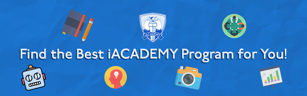Find the Best iACADEMY Program for You!